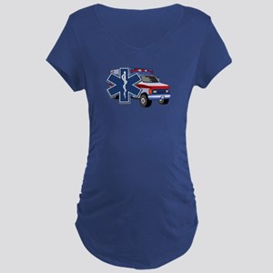 EMS Ambulance Maternity Dark T-Shirt